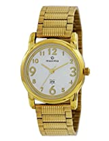 Maxima Analog Silver Dial Women's Watch - 28401CMLY