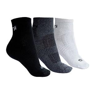 Multicolored socks x3 running socks