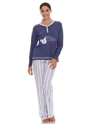Bkb Pijama Señora (índigo)