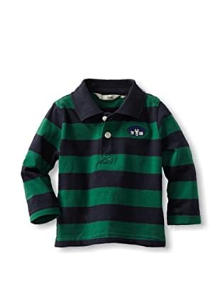 Losan Baby Navywinter Rugby Shirt (Navy/Green)