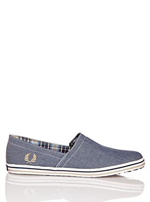 Fred Perry Deportiva Kingston Stampdown Chambray (Marino)