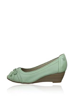 Caprice  Zapatos Peep Toe Aria (Verde)