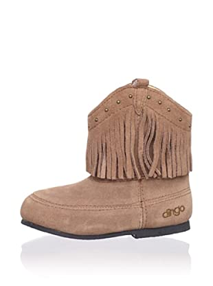 Dingo Kid's Soft Boot with Fringe (Rust)