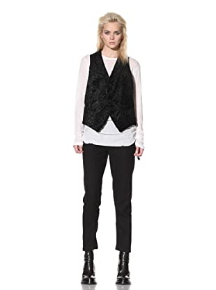 Ann Demeulemeester Women's Merlin Vest (Black)
