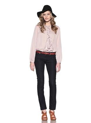 4 Stroke Women's Babylon Skinny Ankle Zip Jeans (Pirana/Dark Indigo)
