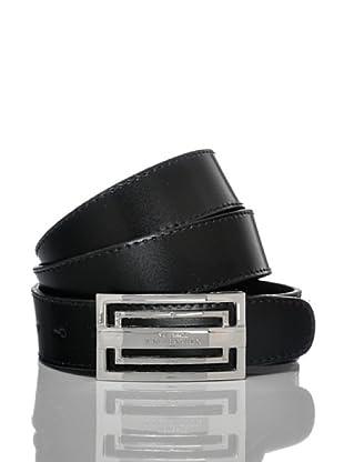 Versace Collection Cinturón Theo (Negro)