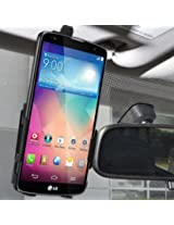 Amzer Anywhere Magnetic Vehicle Mount Holder for LG G Pro 2 F350 - Retail Packaging - Black
