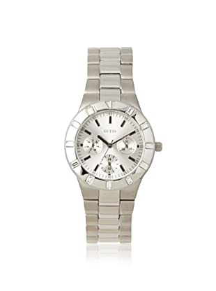 GUESS Women's W11610L1 Hyperactive Silver-Tone Stainless Steel Watch