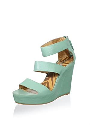 Matiko Women's London Wedge Sandal (Mint)