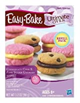 Easy Bake Ultimate Oven Chocolate Chip & Pink Sugar Cookies Refill Pack Playset