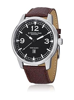 Stührling Original Uhr mit schweizer Quarzuhrwerk Man Condor Casual Aviator Tuskegee 48 mm