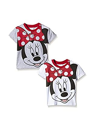Fantasia Pack x 2 Camisetas Manga Corta Minnie Toddler