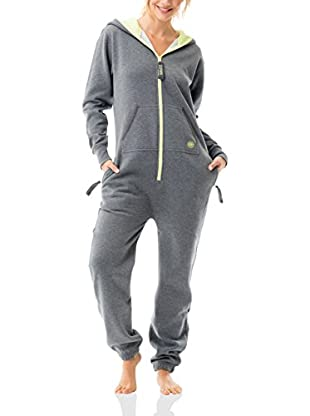 ZipUps Mono-Pijama Zipups Neon