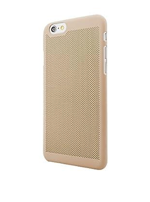NUEBOO Hülle Microperforada iPhone 6/6S goldfarben