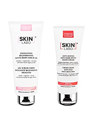 Skinlabo Körperpflege Kit 2 tlg. Set 400 + 75 ml