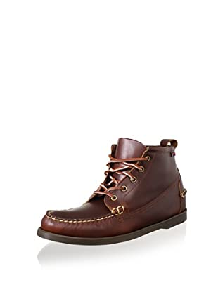 Sebago Men's Beacon Chukka (Brown Oiled Waxy)