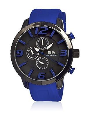 Mos Reloj con movimiento cuarzo japonés Mosml105 Azul 50  mm