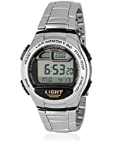 Youth W-734D-1Avdf-D091 Silver/White Digital Watch Casio
