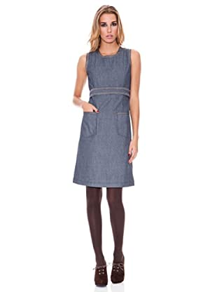 Tonalá Vestido Olivo (Azul)