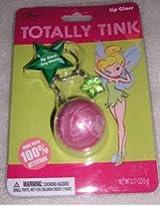 Disney Tinkerbell Keychain w Star Charm & Lip Gloss