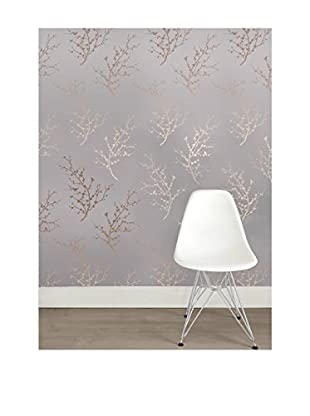 Tempaper Designs Edie Self-Adhesive Temporary Wallpaper, Bronze, 20.5