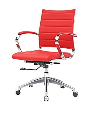 Manhattan Living Sopada Conference Office Chair, Red