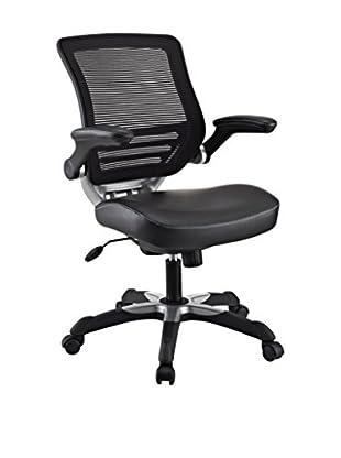 Modway Edge Vinyl Office Chair (Black)