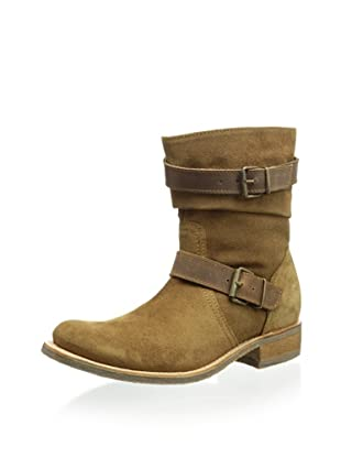 Sendra Women's City Double Buckle Flat Boot (Camel)