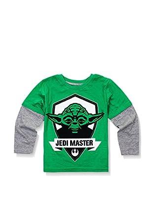 Star Wars Longsleeve Yoda Emblem