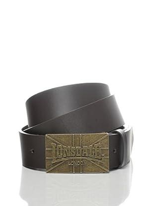 Lonsdale Cinturón Yinchuan (Marrón Oscuro)