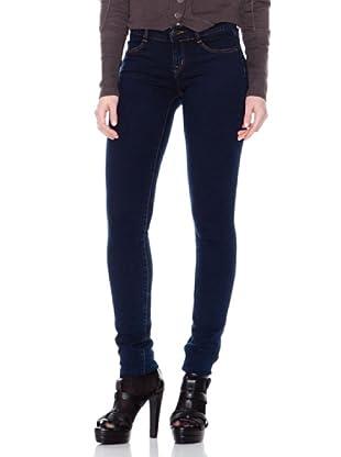 Firetrap Jeans Liso (Azul Oscuro)