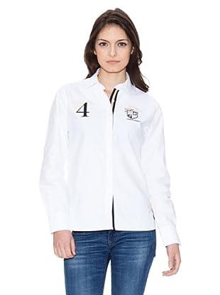 Valecuatro Camisa Escudos (Blanco)