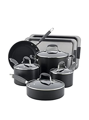 Anolon Advanced Hard Anodized Nonstick 9-Piece Cookware Set with 2-Piece Bakeware Bonus