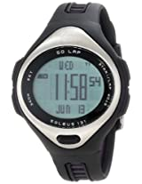 Soleus Womens SR005237P 131 Black and Silver 50 Lap Digital Sports Watch