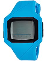 Quiksilver Digital Blue Dial Men's Watch - QS-1023-BLU
