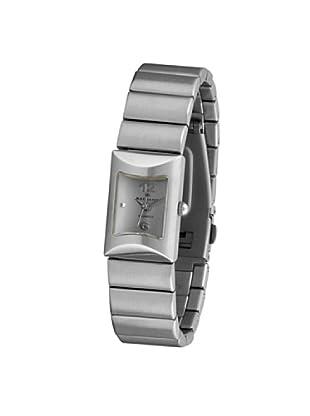 RADIANT 72075 - Reloj de Señora brazalete metálico dial plata