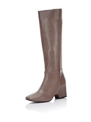 Calvin Klein Collection Women's Ila Block Heel Boot (Pumice)