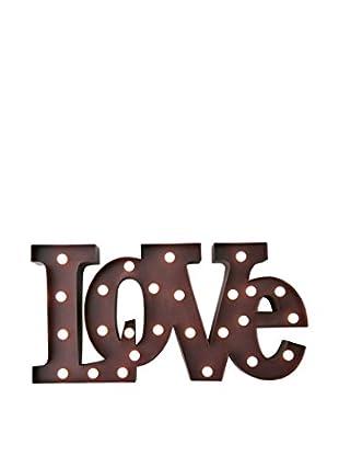 LO+DEMODA Wanddeko Love