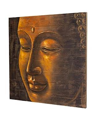 Home Decor Panel de Madera Buda