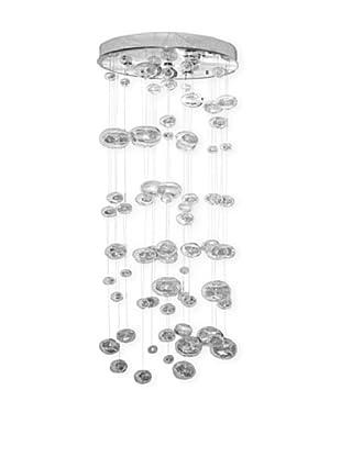 Control Brand Jellyfish Chandelier, Silver
