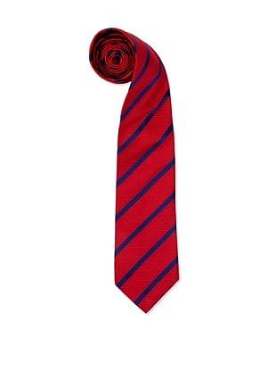 Olimpo Corbata Rayas (Rojo)