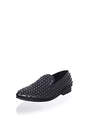 Steve Madden Men's Jagggrr Loafer (Black)