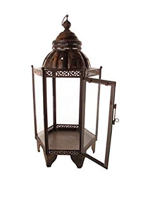 Large Medina Lantern, Brass
