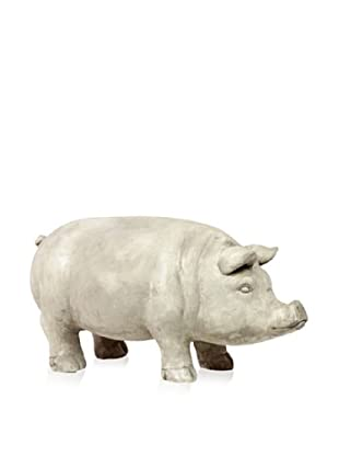 Urban Trends Collection Fiberstone Pig