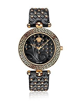 Versace Uhr mit schweizer Quarzuhrwerk Vanitas VK7030013 schwarz 40.00 mm