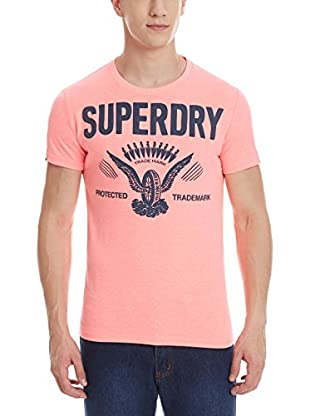 Superdry T-Shirt Manica Corta Protected Label Line