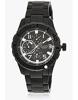 Nta16664G Black Analog Watch Nautica