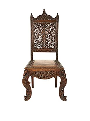 India Tribal Chair, Brown