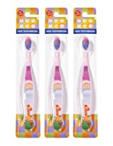 Mee Mee Toothbrush MM-3891 Pink Pack of 3