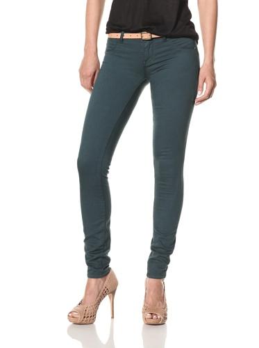 [BLANKNYC] Women's Spray On Jeans (Petrol)